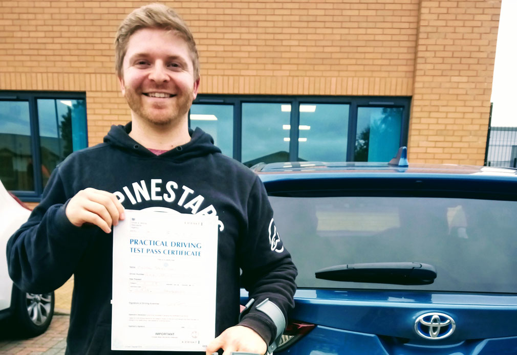 Premier and Angels - Recent Driving Test Pass